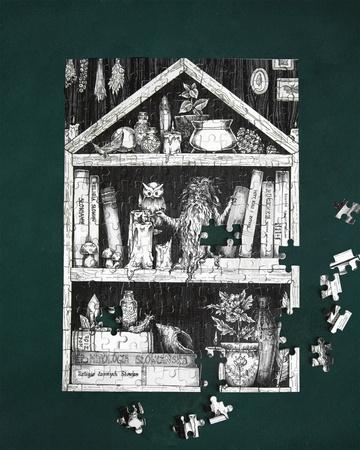 Puzzle Domowik (1)